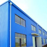 Painting/Galvnaized Steel Structure Warehouse (SSW658971)