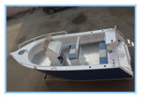 China Manufacture 17FT 5m Welded Aluminum Plate Boat with Center Control