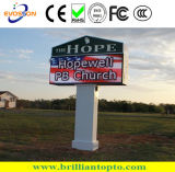Outdoor Chruch P10 LED Display Sign Board, Front Open LED Screen