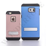 High Quality 2 in 1 PC Phone Case Cover with Stand for iPhone 5 6 7