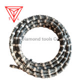 China Factory Diamond Rope Wire Saw for Quarry Mining Marble Granite Moorstone Sandstone Andsite Limestone