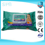 Private Label OEM Soft Flushable Cleaning Wet Wipes