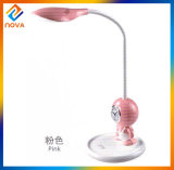 Cute Cartoon Portable Rechargeable Table Lamp with USB Port