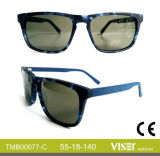 Handmade Glasses Sun with Acetate (77-C)