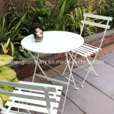 Iron in Metal 2 Seater Bistro Set with Round Table Colbolt Chair
