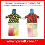 Christmas Decoration (ZY14Y45-1-2 21X14CM) Christmas Wine Costume