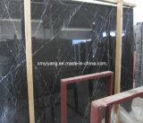 Nero Marquina Black Marble Tiles for Flooring and Wall / Bathroom/Backsplash