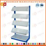 Single Side Magazine Racks Library Display Shelving Newspaper Shelf (Zhs330)