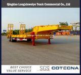2 Axles Excavator Transport Gooseneck Low Bed Semi Trailer