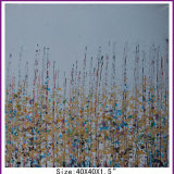 Abstract Home Decor Flower Grass Oil Painting on Canvas (LH-700580)