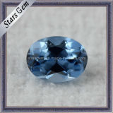 119# Blue Color Synthetic Sapphire Spinel Stone for Jewelry