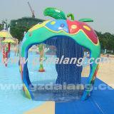 Fiberglass Apple House for Children (DLAP-002)
