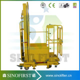 Machine Used for Taking Box Cargo From Rack Shelf Electric Order Picker