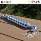 Rigging Malleable Iron Galvanized Commercial Type Turnbuckle