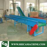 Flat Belt Conveyor for Waste Plastic