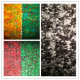 Wool Blenched Heather Colour Fancy Terry Jersey Fabric