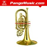 F Tone Yellow Brass Marching Mellophone (Pango PMFH-1600)