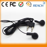 China Supplier Disposable Earphones Wired Airline Earphone