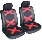 Universal Fit 4PCS Full Set PU&Leather Soft Car Seat Cover