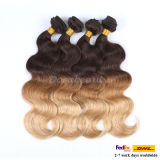 Wholesale Tone Colors Human Hair Brazilian Body Wave Remy Hair Extension