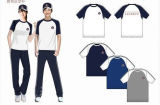 100%Cotton School Uniform T-Shirt for Sport -Ll-08