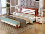 Solid Wooden Bed Modern Beds (M-X2229)