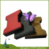 Interlock Rubber Tile Made of Qingdao Csp