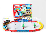 Electrical Battery Operated Railway Train Car Toy (752210)