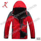 Red Tech Winter Jacket for Outdoor (QF-658)