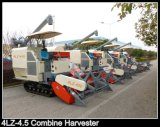 400/450/500mm*51 Crawler 83kw Engine Power Hst Rice Harvesting Machine