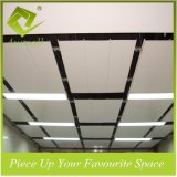 150mmw Aluminum Decorative Hook-on Ceiling Tiles in Wood Color