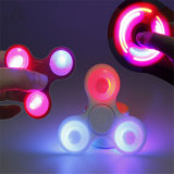 2017 Colorful Hand Spinner with Luminous Fluorescent Light Glow in The Dark for Adhd Anxiety Autism Boredom Stress