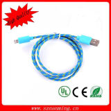 Fabric Braided USB Charging Cable for iPhone 5