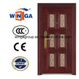 5star Building Good Quality Outsidethief-Guard Metal Security Steel Door (W-S-20)