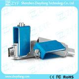 Fashion Design High Quality Metal Swivel 16GB OTG USB (ZYF1605)