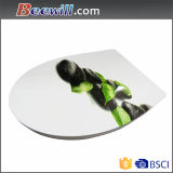 Modern Style Eco-Friendly Customer Printing Soft Close Toilet Seat
