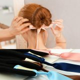 Fashion Women Magic Tools Foam Sponge Device Quick Messy Donut Bun Band Accessories