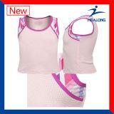 Dye-Sublimation Shirt Printing Netball Jerseys Sportswear
