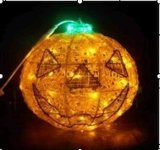 Halloween LED Pumpkin Light for Holiday Lights Decorations