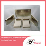 Super Strong Customized Need N35 Block Permanent Neodymium/NdFeB Magnet with ISO9001 Ts16949