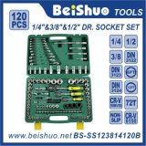 "120PCS 1/2"" &1/4′′&3/8′′ Drive Socket Set"