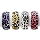 "Szie 3""X3""X1.75"" Leopard Print Bangle"