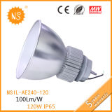 UL, CE, RoHS, IP65, 5 Year Warranty New Design LED LED High Bay Light/Outdoor Lighting/Industry High Power 120W