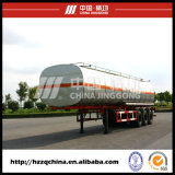 40800L Carbon Steel Q345 Tank Trailer for Light Diesel Oil Delivery (HZZ9400GYY)