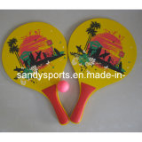 Colorful Custom Printin Beach Racket for Promotion