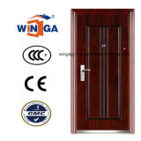 Indian Style Classic Exterior Iron Metal Security Steel Door (W-S-126)