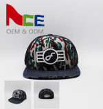 Small MOQ New Fashion Character Camo Mesh Snapback Cap (ACEW012)