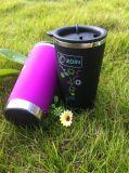 Telecome Cheap Promotional Double Wall Plastic Coffee Mug