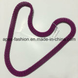 Simple Big Purple Beads Necklace Fashion Jewelry Best Seller