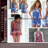 2015 Wholesale New Fashion Women Clothes Plus Size Jumpsuit (TONY8058)